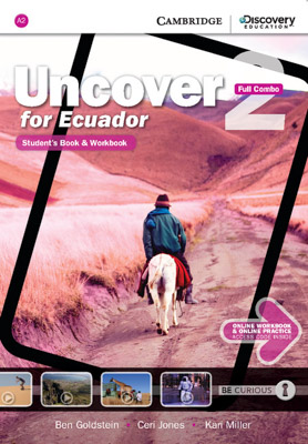 PLATAFORMA UNCOVER FOR ECUADOR FULL COMBO WITH ONLINE STUDENTS BOOK AND WORKBOOK 2
