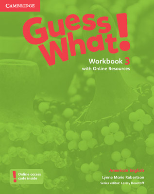 GUESS WHAT! WORKBOOK WITH ONLINE RESOURCES 3